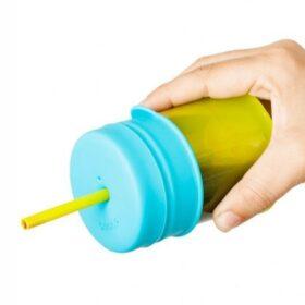 Tomatodo con vaso y sorbete para bebé   Tienda para bebés - Mamita y Yo