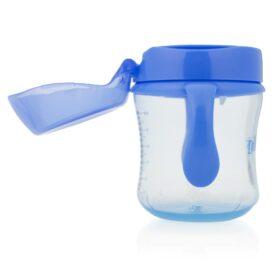 Dr. Brown's - Vaso de Entrenamiento Bebés 6m+ Boquilla Suave 180ml Azul - Productos para bebes | Mamita y Yo