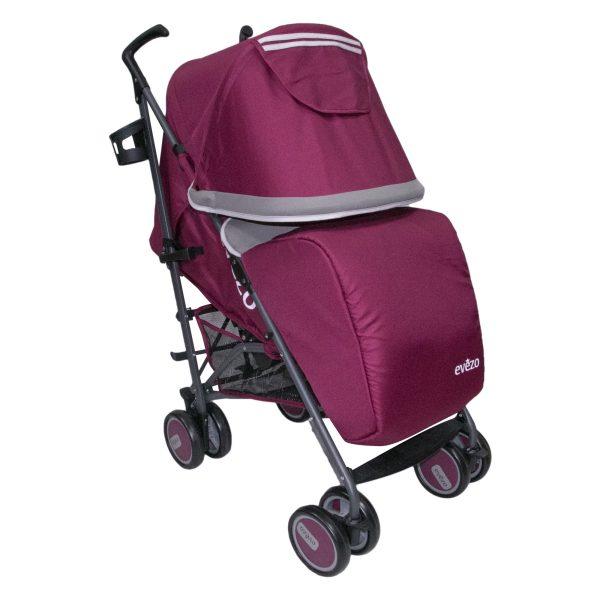 Evezo - Coche bastón 3 posiciones Sammy Rojo - Productos para bebes   Mamita y Yo