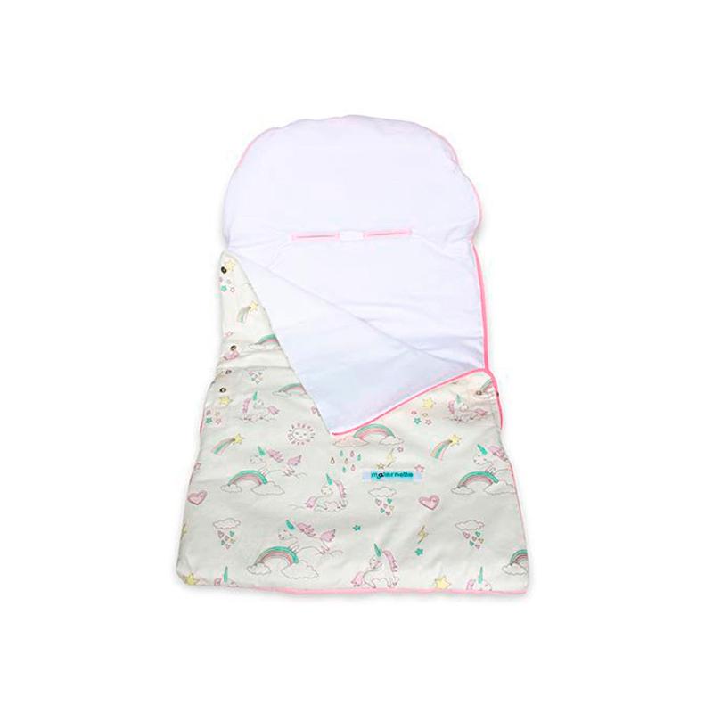 Maternelle - Sleeping Bag Baby Rosado Unicornio