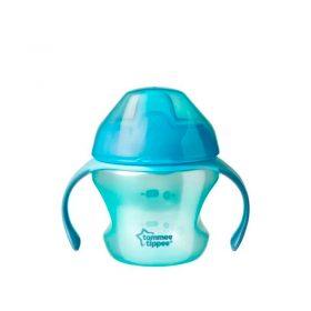 Tommee Tippee - Taza de Transición con Boquilla 5oz Morado - Productos para bebes | Mamita y Yo