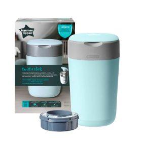 Tacho Azul Sistema para desechar Pañales - tommer tippee | Tienda para bebés - Mamita y Yo