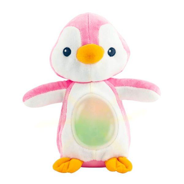 Winfun - Pinguino musical que se ilumina Rosado - Productos para bebes   Mamita y Yo