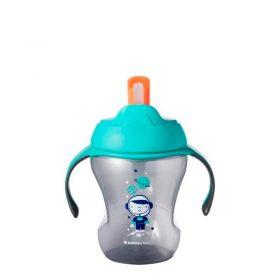 Tommee Tippee - Taza De Entrenamiento Con Sorbete 8oz/230ml Gris - Productos para bebes | Mamita y Yo